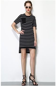 stripe dress--1524