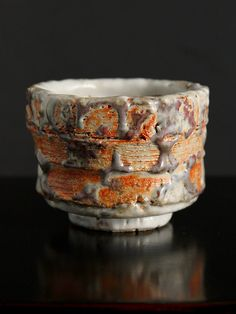 Shino Cup Ongar  Ceramic Stoneware Pottery  by Claywork on Etsy, $65.00