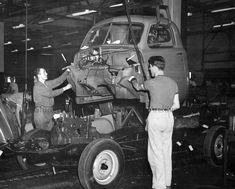 Studebaker assembly line