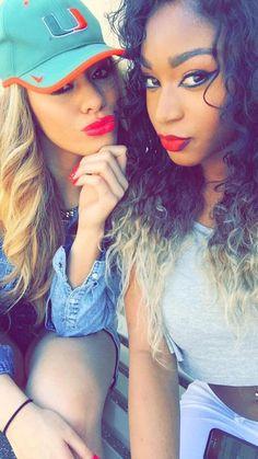Dinah and Normani