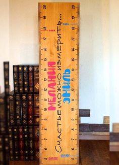 Именная линейка-ростомер от Weralav #growthchart #baby #ruler #babyruler…