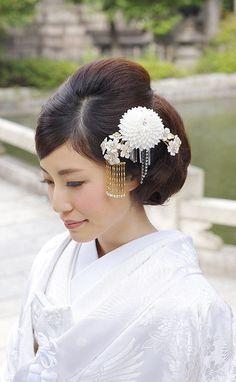 白打掛洋髪スタイル*