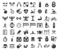 pictogramas fitness - Pesquisa Google