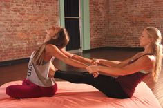 Yoga Tutorial: Thai Massage for Couples & Friends