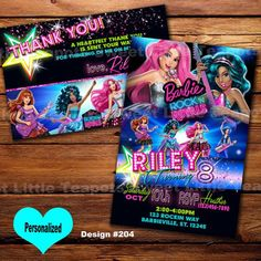 barbie rock n royals birthday party - Google Search