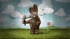 Kompost creates awareness in an ad for Swiss organization EvB, wherein a chocolate bunny cannot live with the truth about how Swiss chocolate is really made.