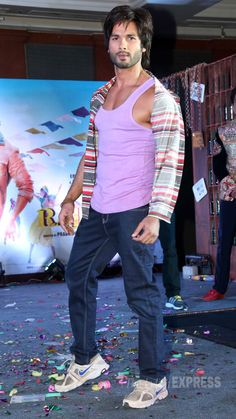 Shahid Kapoor at the music launch of R...Rajkumar. #Bollywood #Fashion #Style