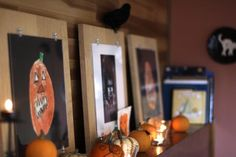 children's art for halloween decorations