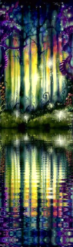 Ideas For Mother Nature Fairy Beautiful Elfen Fantasy, 3d Fantasy, Fantasy World, Fantasy Forest, Fairy Art, Amazing Art, Awesome, Fairy Tales, Beautiful Pictures