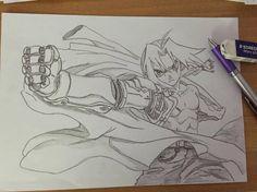 Edward Elric - Full Metal Alchemist - Draw - Pencil