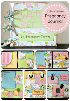 How to make your own pregnancy journal- ideas for pages to include to capture 9 months of memories. @HollaBack888