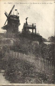 CPA Paris 18e (Dep. 75) Moulin de la Galette (74031) | eBay