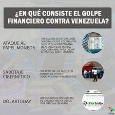 ¿Golpe financiero contra #Venezuela? Según Telesur sí