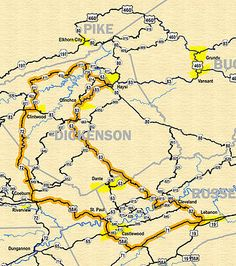 Ride over 1500 miles of the best back roads Virginia has to offer. Get your free Appalachian Backroads map and plan your adventure. Motorcycle Rides, Back Road, Road Trips, Grand Canyon, Virginia, Motorcycles, Places To Visit, Mountain, Map