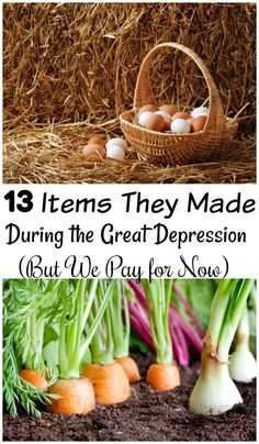 Money savers 338966309455343603 - In the Great Depression they handmade a lot mor items then we do now. These 13 items item we pay for now, but they didn't. See how they can save you money! Source by greathistory Emergency Preparation, Emergency Preparedness, Frugal Living Tips, Frugal Tips, Depression Era Recipes, Great Depression, Survival Food, Survival Hacks, Vegetables Garden