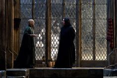 Snape with Voldemort - Deathly Hallows