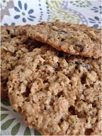 Veggie(ology): Gluten Free Oatmeal Cookies Sub applesauce for egg and butter