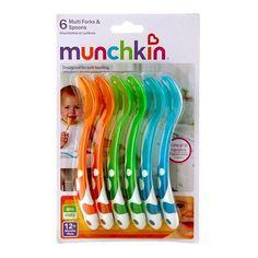 Munchkin Multi Forks & Spoons - 6 ea