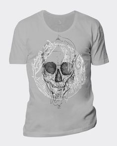 Old-skull T-Shirt project. Vote for me if you like it. Thanx!