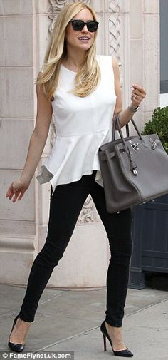 .GREAT BAGS< SHOES and love n  black and white
