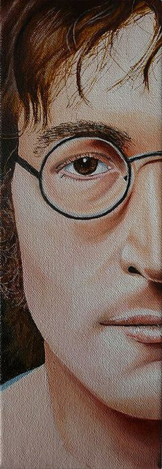 The Beatles John Lennon Print By Vic Ritchey