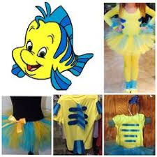 Diy little mermaid flounder costume cupofdelightspot image result for homemade flounder costume solutioingenieria Image collections