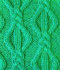 Вязание спицами объемный узор №3717 схема