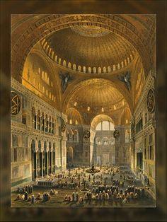 Resultado de imagem para basilica santa sofia