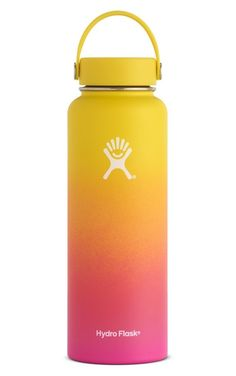 a943ddbda8 PNW 40oz Wide Mouth- Limited Edition Stainless Steel Water Bottle, Hydro  Flask 40 Oz