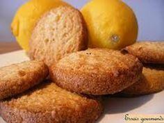 Sablés au citron pour le thé - Recette de cuisine Marmiton : une recette
