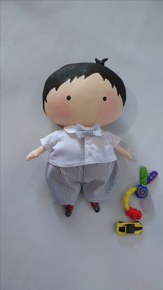 Tilda Doll Boy It will be a perfect gift for children (even small children older than 3 years old) or used as a decoration element for the home - Baby Boy Toys, Tilda Toy, Doll Painting, Fabric Toys, Sewing Dolls, Waldorf Dolls, Boy Doll, Soft Dolls, Doll Crafts