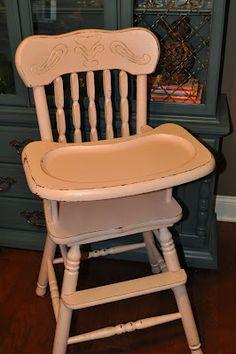 Pink Highchair