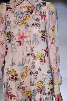 its amazing. embroidered missoni dress.:
