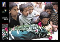 Middle East: Palestinian Children That's what Israel does every day Still support the troops?