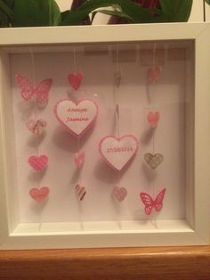 Hearts & Butterflies Personalised Gifts