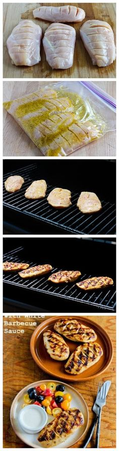 joysama images: Grilled Chicken with White Barbecue Sauce