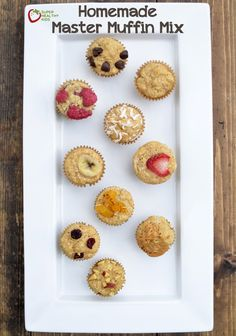 The only muffin mix you need for a million different muffin varieties! www.superhealthykids.com