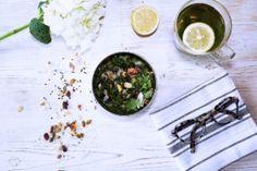 Herb & Trail Mix Salad - Baliboosta