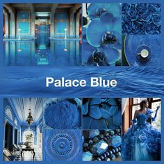 2018 Pantone Spring Palace Blue mood board for IG nail challenge Pantone Blue, Pantone Color, Easy Nail Art, Color Of The Year, My Nails, Palace, Ss, Challenge, Collage
