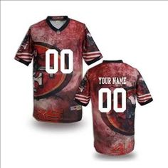 87449abbcfc 8 Best Customized San Francisco 49ers Jerseys images | 49ers shop ...