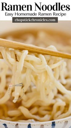 Easy homemade ramen noodles recipe without using a noodle-making machine. You can make delicious noodles at home with just 4 ingredients. #japaneseramen #noodlerecipes #recipes #noodlerecipeseasy #noodlerecipessoup  #noodles #recipeseasy #ramennoodlerecipes Ramen Noodle Recipes Homemade, Ramen Recipes, Cooking Recipes, Japanese Noodle Dish, Japanese Ramen, Curry Udon, How To Make Ramen, Ramen Restaurant, Best Side Dishes