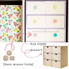 I want to do this, even though I just redid my ikea drawers - damn!