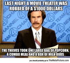 Movie Theater Crime