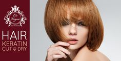 Soften your hair with Brazilian keratin, and enjoy a haircut and blow-dry for AED 175 from En Vogue Beauty Center (Value AED 2580) – Valid for men and women