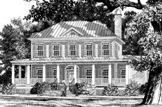 Looking for the best house plans? Check out the Steamer Point plan from Southern Living. House Plans Uk, Southern Living House Plans, Small House Floor Plans, Bird House Plans, Luxury House Plans, Country House Plans, Dream House Plans, Dream Houses, Style At Home