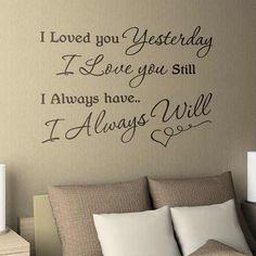 #love #forever #always