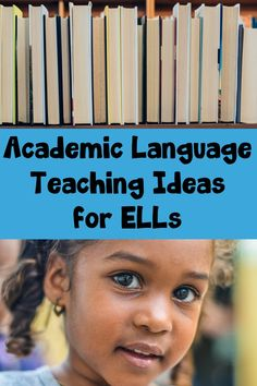 Tips, teaching ideas, and resources to help teach academic language to English Language Learners.