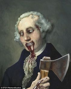 And then there's George Washington, zombie