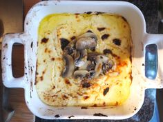 Are you looking for a classy cheese dip? Look no further than this mind-blowing baked ricotta with mushrooms and a balsamic brown butter.