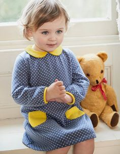 Cosy Collared Dress Boden